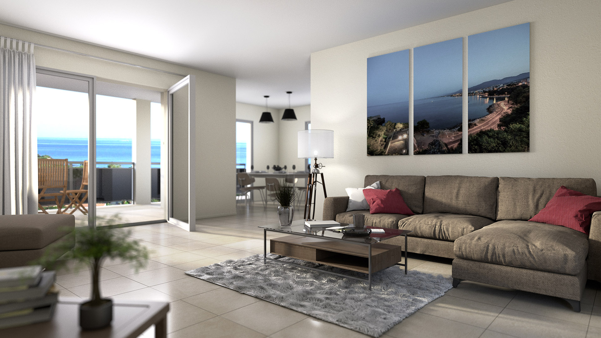 Programme neuf corse vista mare bastia 55 appartements for Residence neuf