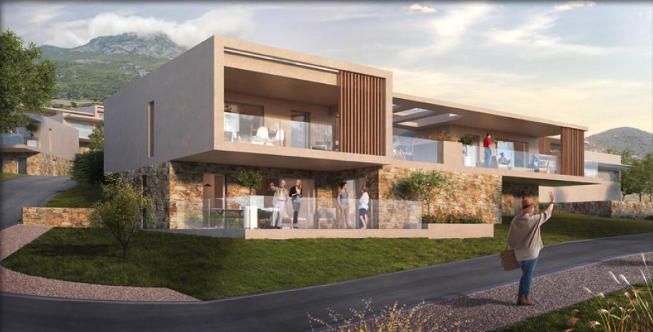 Investir programme immobilier neuf : La domaine Di A Muvrella - Corse