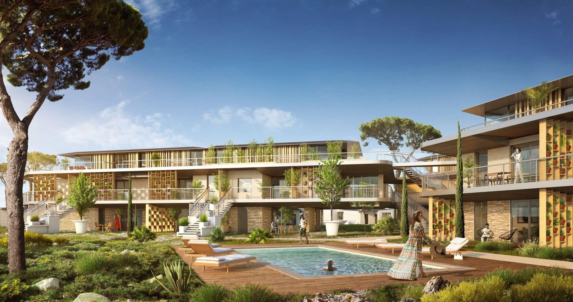 Investissez dans le neuf à Lecci Sud Corse avec le programme Pinel Sognu di Cala Rossa