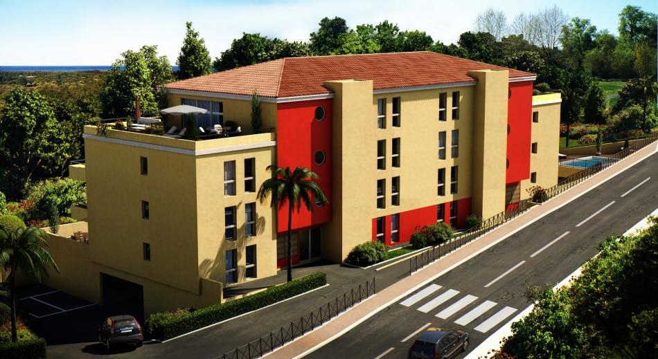 Achat immobilier neuf Corse Porto-Vecchio Résidence La Boetie