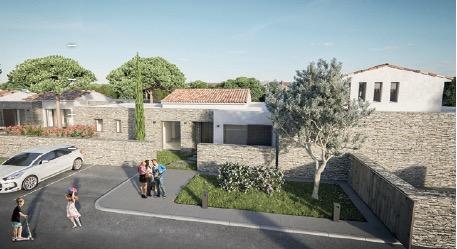 Les Pinèdes de Cala Rossa, c'est un domaine privé de villas individuelles